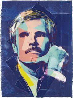 """""""Ted Turner…gave me one of my first jobs, he was the art director at Hearst in the fifties.""""-4/28/86 Warhol diary entry"""