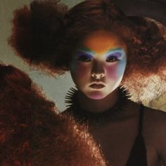 A classic Vogue Italia shoot by Steven Meisel, makeup by Pat Mcgrath on Devon Aoki, circa 1999.