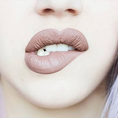 """""""Slayin' it in #BUFFY  New Velvetine shade available now as part of Limited Edition Trio on www.limecrime.com!  Photo: @glitterbubblegum_"""""""