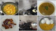 Morning to Afternoon Vlog - Vengara chutney, Chicken Tandoori, Chicken Milagu Curry - The Best Chicken Recipes Best Chicken Recipes, New Recipes, Steamed Vegetables, How To Make Breakfast, Eating Raw, Chicken Casserole, Food Preparation, Palak Paneer, Chutney