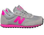 Grijze New Balance kinderschoenen 410 sneakers