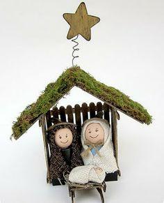 VCTRY's BLOG: Pesebre de Belen o Natividad (manualidad reciclada...