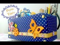 DIY: Porta Treco (caixa organizadora) - YouTube