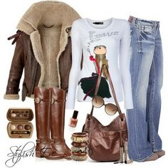 This is new for me but my mind is saying YES! *Jean Outfits for Women by Stylish Eve