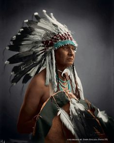 White Man Runs Him- Crow. ca. 1910