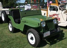 Jeep Willys CJS - articles, features, gallery, photos, buy cars - Go Motors Suv Trucks, Lifted Trucks, Cool Trucks, Pickup Trucks, Jeep Garage, Jeep Suv, Willys Wagon, Jeep Willys, Old Jeep