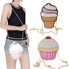 5.91$ (More info here: http://www.daitingtoday.com/funny-ice-cream-cake-bag-small-crossbody-bags-for-women-cute-purse-handbags-chain-messenger-bag-party-bag ) Funny Ice Cream Cake Bag Small Crossbody Bags For Women Cute Purse Handbags Chain Messenger Bag Party Bag for just 5.91$