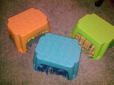 DIY Footstool Tunnel - petdiys.com