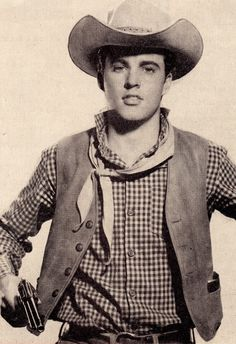 RICKY NELSON cowboy clipping (minkshmink) Franck Sinatra, Scott Baio, All American Boy, Ricky Nelson, The Lone Ranger, Tv Westerns, Cowboy Up, Famous Movies, Western Movies