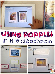 Popplet can be used for reading response, math visuals, pre-writing, and more!