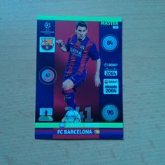 Karta Lionel Messi Champions league 2014/2015