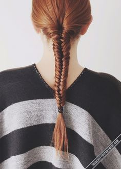 If you're new to braiding, try using this trick to help you keep each strand under control!