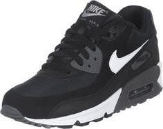 uk availability 66817 2ee6e Nike Air Max 90 Youth GS shoes black white Haute Couture, Chaussures Nike  Pas Cher