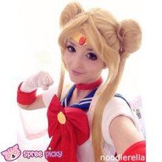 COS Sailor Moon Usagi Wigs 100 cm SP130031 - SpreePicky  - 1