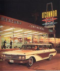 1962 Mercury Colony Park Station Wagon