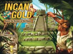 Incan Gold | Board Game | BoardGameGeek   Haven't tried this yet. Supposedly good for 3-8 players.