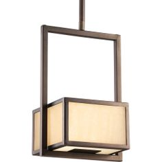 Progress Lighting Haven Collection (P5134-124EBWB) Contemporary/Soft 1 Light CFL Mini-Pendant shown in Copper Bronze with Stonehenge Pattern Glass