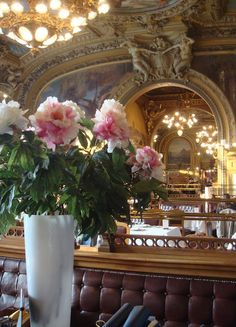 The 'Train Bleu' in the Gare de Lyon, Paris  One of the best restaurants in paris according to my professor.