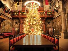 Take a Holiday Home Tour of Biltmore House | Holiday Decorating and Entertaining Ideas & How-Tos | HGTV