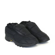 White Mountaineering PADDED VIBRAM SOLE SHORT BOOTS