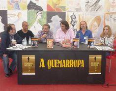 En la Semana Negra de Gijón, presentando Mujeres en la historia 2.
