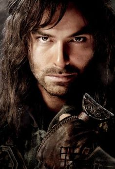 """Kili"" played  by  Aidan Turner most definitely the hottest dwarf from The Hobbit!"