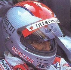 VINTAGE-SIMPSON-M62-HELMET-MARIO-ANDRETTI-F1-GP-Pilot-Race-Racing-FERRARI-1982