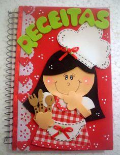 ♥: Cadernos decorados