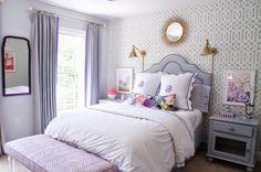 Caitlin Wilson Bridge City Blooms on Grey lumbar pillow | #shareyourcwt