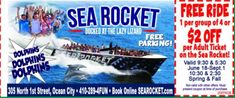 Get ready for the high-speed ride of a lifetime! Ever wanted to climb aboard a rocket ship and cruise up the coast? Rocket Ride, Ocean City Md, Parasailing, Speed Boats, Amazing Adventures, Coupons, Cruise, Coast, Sea
