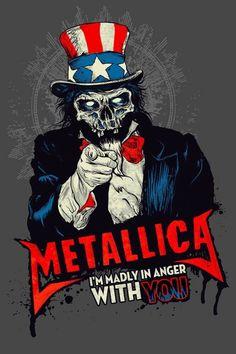 *m. Metallica's poster