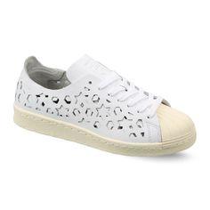 sale retailer c2be3 bba7b Adidas Women s Originals SUPERSTAR 80S CUT OUT Low Shoes