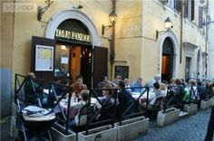 Been here! One of our favorite (and least expensive) meals in Rome...Dar Poeta Pizzeria - across the river in Trastevere.
