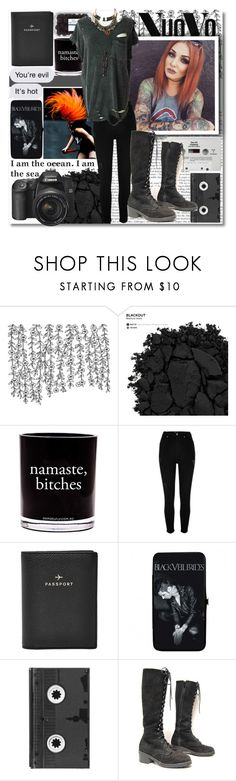 """""""Band Photographer!"""" by isabeldizova ❤ liked on Polyvore featuring Urban Decay, Damselfly Candles, River Island, FOSSIL, CASSETTE and Luckies"""