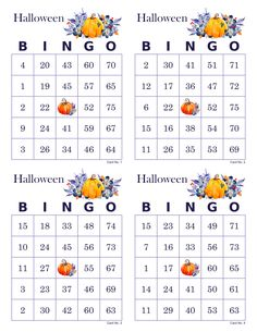 Halloween Bingo Cards, 1000 cards, 4 per page, immediate pdf download, watercolor pumpkins Halloween Bingo Cards, Christmas Bingo Game, Fun Christmas Party Games, Bingo Card Maker, Custom Bingo Cards, Bingo Calls, Bingo Patterns, Things To Do When Bored, Card Making