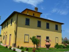 Beautiful villa for rental in Tuscany! Private pool, sleeps 16 7 beds 5 bathrooms 16th century Leopoldina style villa
