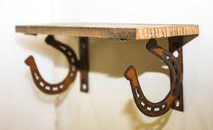 Horseshoe Projects, Horseshoe Crafts, Horseshoe Art, Wood Projects, Welding Projects, Blacksmith Projects, Welding Art, Western Style, Country Western Decor