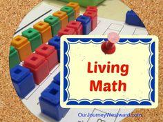 Living Math   Our Journey Westward via @Cindy West (Our Journey Westward)