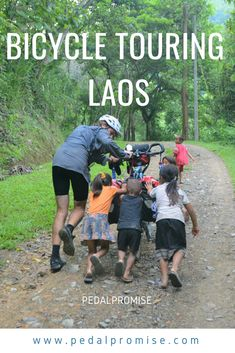 Bicycle touring in Laos