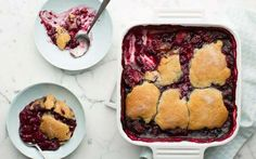 Mixed Berry Cobbler by Ellie Krieger (Berries) @FoodNetwork_UK