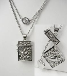 Bali style sterling silver prayer box pendant bali style sterling prayer box locket necklace vintage pendant by neatstuffantiques 6000 aloadofball Gallery