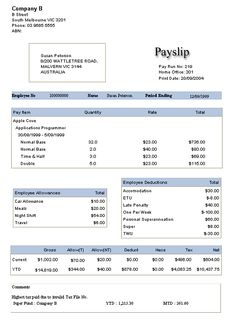 A salary slip template is an essential business record that gives ...