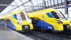 AMSTERDAM Op internet zijn beelden uitgelekt van wat de nieuwe razendsnelle intercitytrein van de NS moet gaan worden. Een woordvoerder van de NS ontkent echter dat de nieuwe treinen er daadwerkelijk zo uit gaan zien.