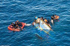 البحرية الإيطالية :إنقلاب زورق مهاجرين بالبحر المتوسط - TurkeyTimes - تركيا تايمز