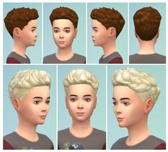 SweptHair for Boys at Birksches Sims Blog via Sims 4 Updates