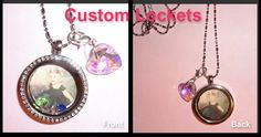 Floating Memory Lockets by RealCoolTreasures on Etsy