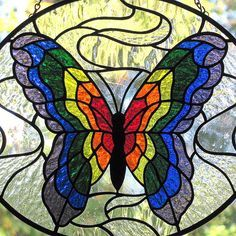 stained glass butterfly - Google Search