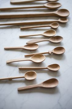 These handcrafted spoons are naturally antibacterial and safe for everyday use in the kitchen. Each set of 3 are slightly different in spoon size and design. They are hand-crafted in India. With simpl