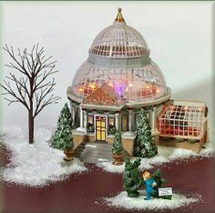 Crystal Gardens Conservatory NEW Department Dept. 56 Christmas In The City CIC