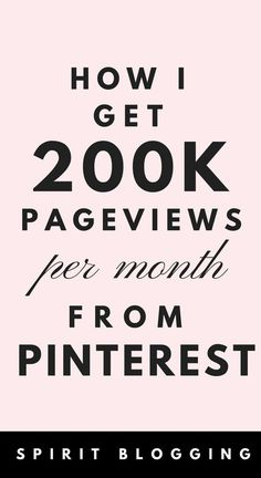 Get insane amount of Pinterest traffic to your blog with these full proof tips i use to get 200,000 pageviews per month and make $10000 + every month.